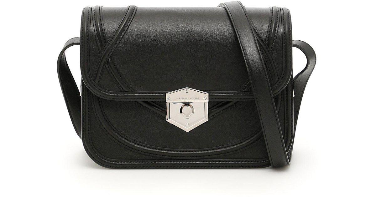 Alexander Mcqueen Wicca Shoulder Bag in Black - Lyst d2bfcee8da715