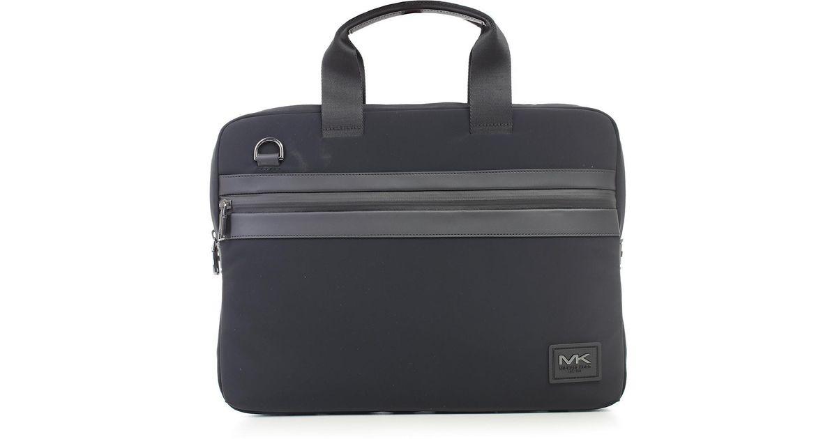 409b5666454b Lyst - Michael Kors Kent Briefcase in Black for Men
