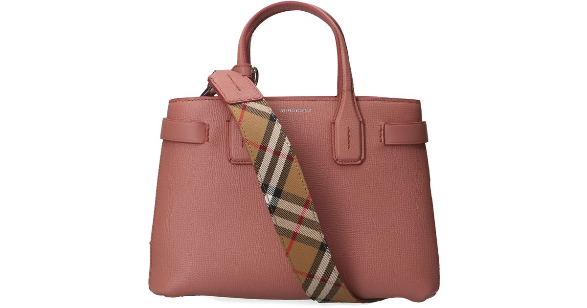 Lyst - Burberry Dup Totes in Pink 0aca261f20c22