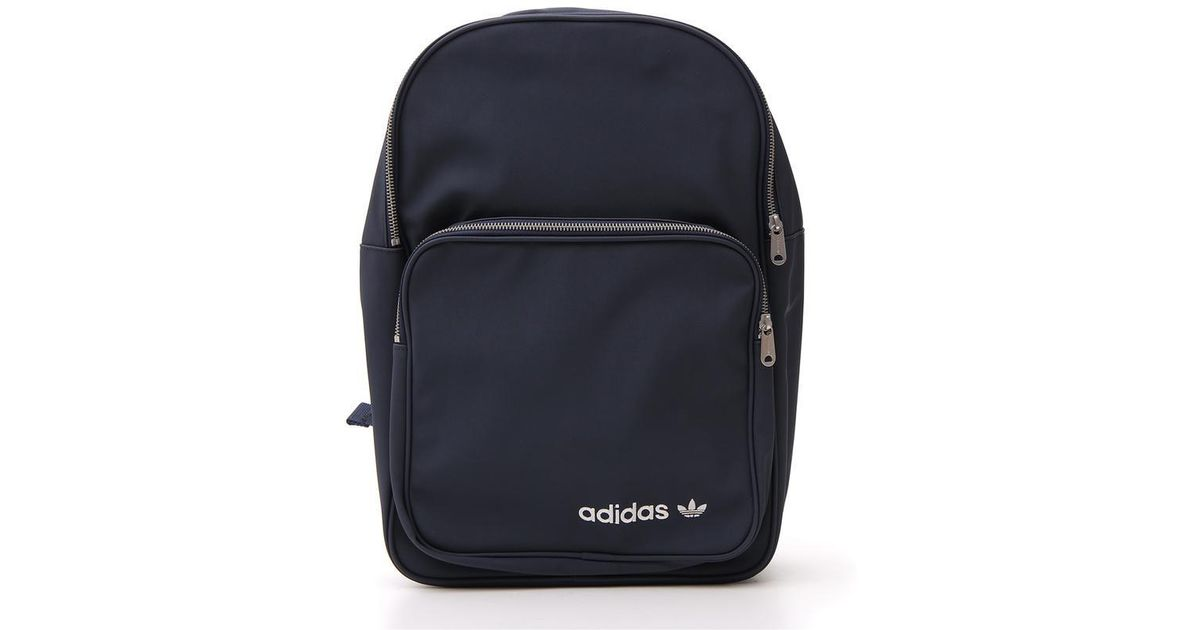 094d0e8b8 adidas Classic Zip Backpack in Blue for Men - Lyst