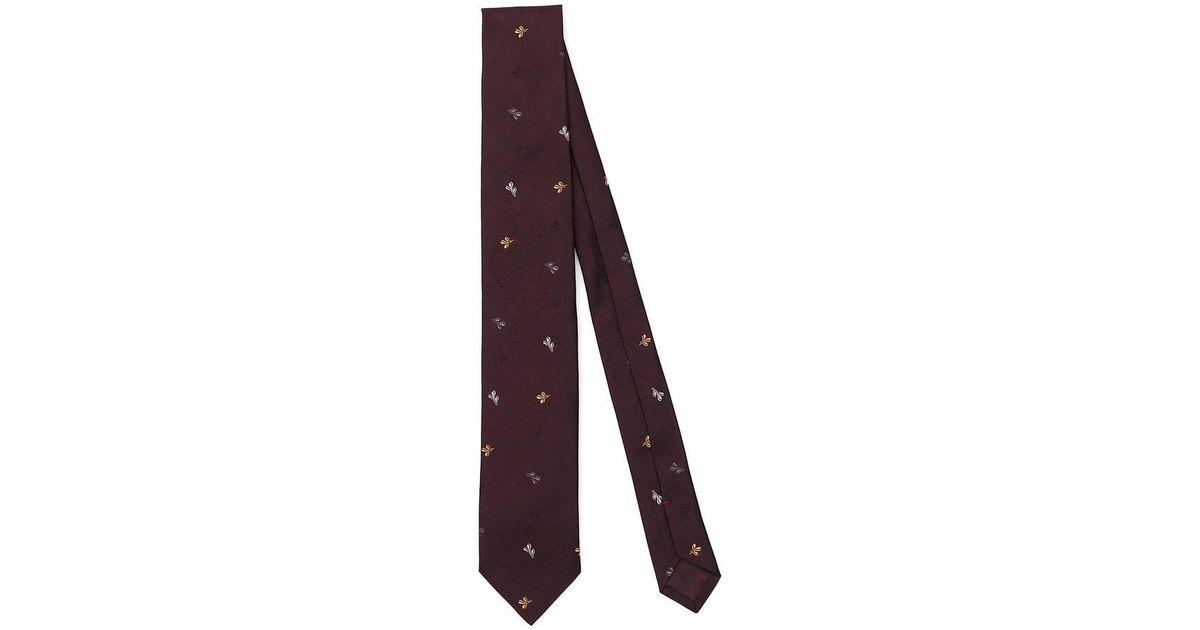 Partie Emoji Soie Cravate Prada 7cMu9