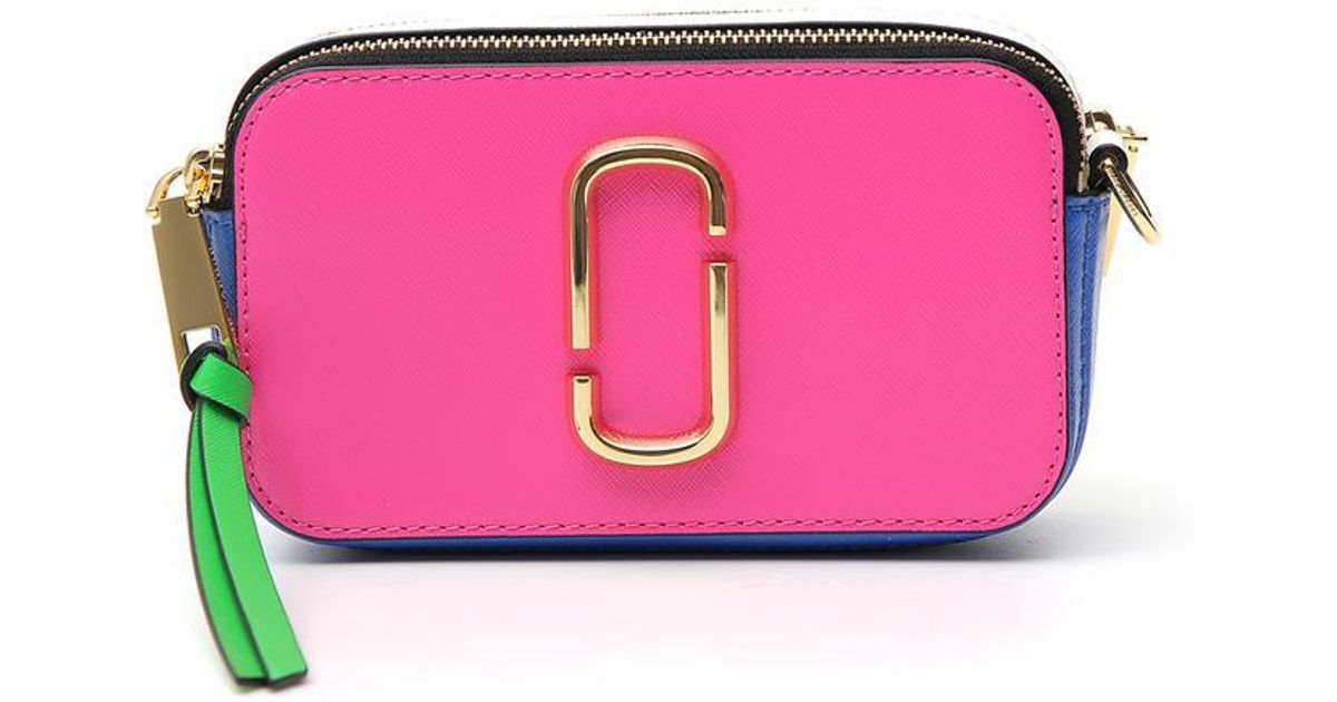17961dac1800 Marc Jacobs Snapshot Small Camera Bag in Pink - Lyst
