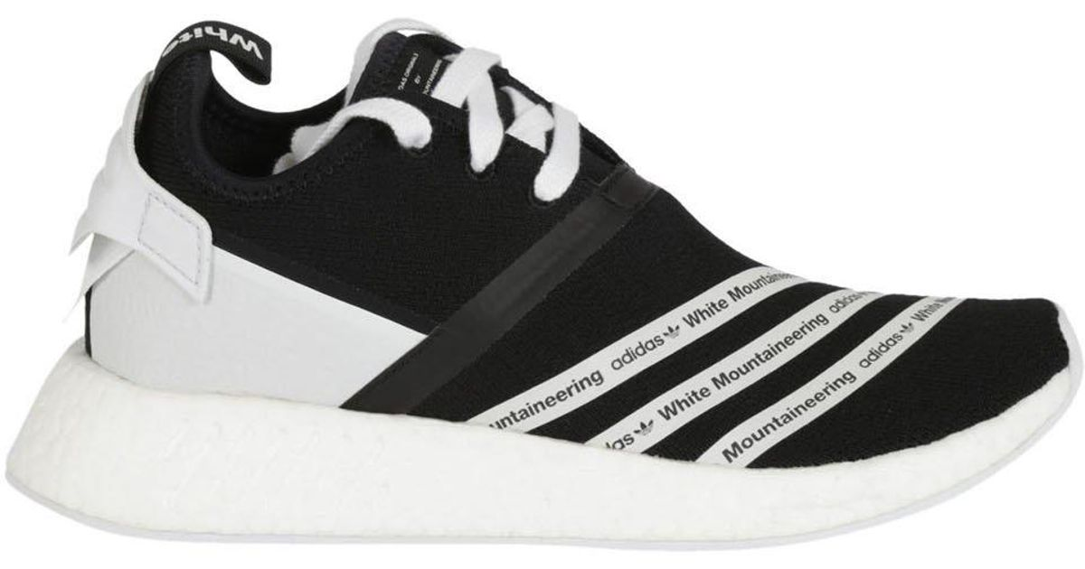16a197c1e33fc Lyst - adidas X White Mountaineering Nmd R2 Pk in Black for Men
