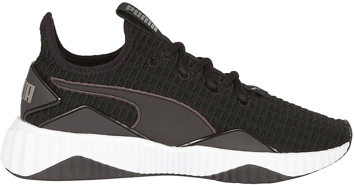 fb4d6faf76d906 Lyst - PUMA Defy Lace-up Sneakers in Black