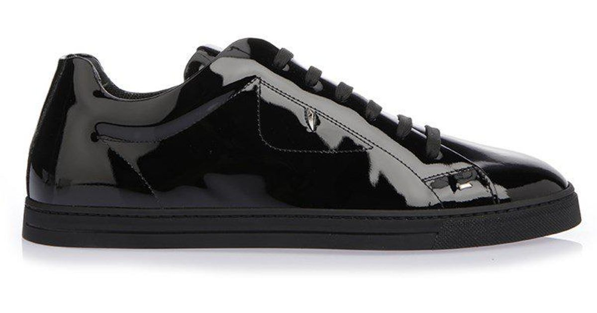 Cheap Pre Order Discount In China Fendi Patent Sneakers Cheap Sale Marketable Low Shipping For Sale Outlet Shop Offer gMwY8H0DL