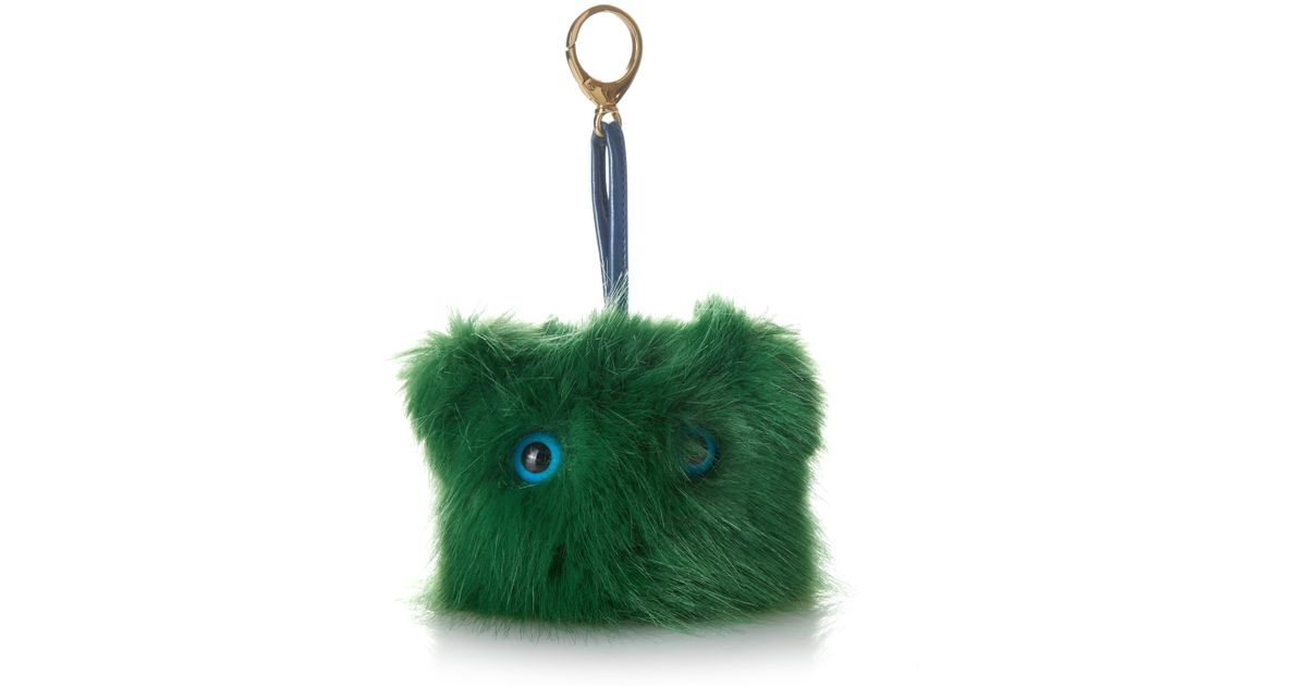 807d7534e1 Lyst - Shrimps Bag Charm in Green