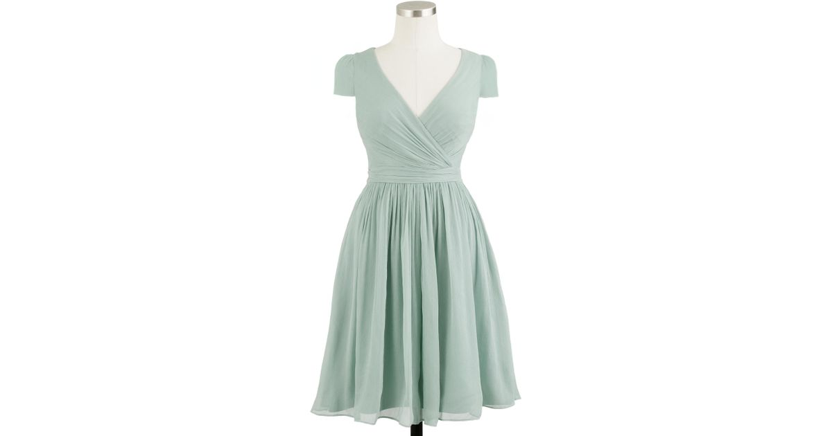 J.Crew Chiffon Dress