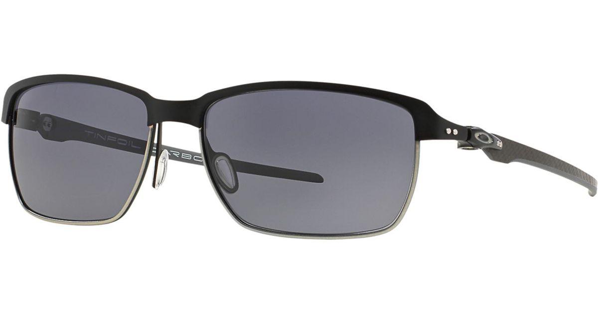 f09b30948c417 Lyst - Oakley Oo6018 58 in Black for Men