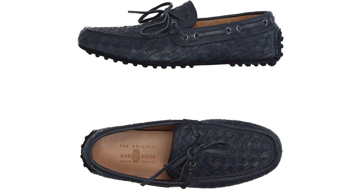 ec3b9bb7583 Lyst - Car Shoe Moccasins in Gray for Men