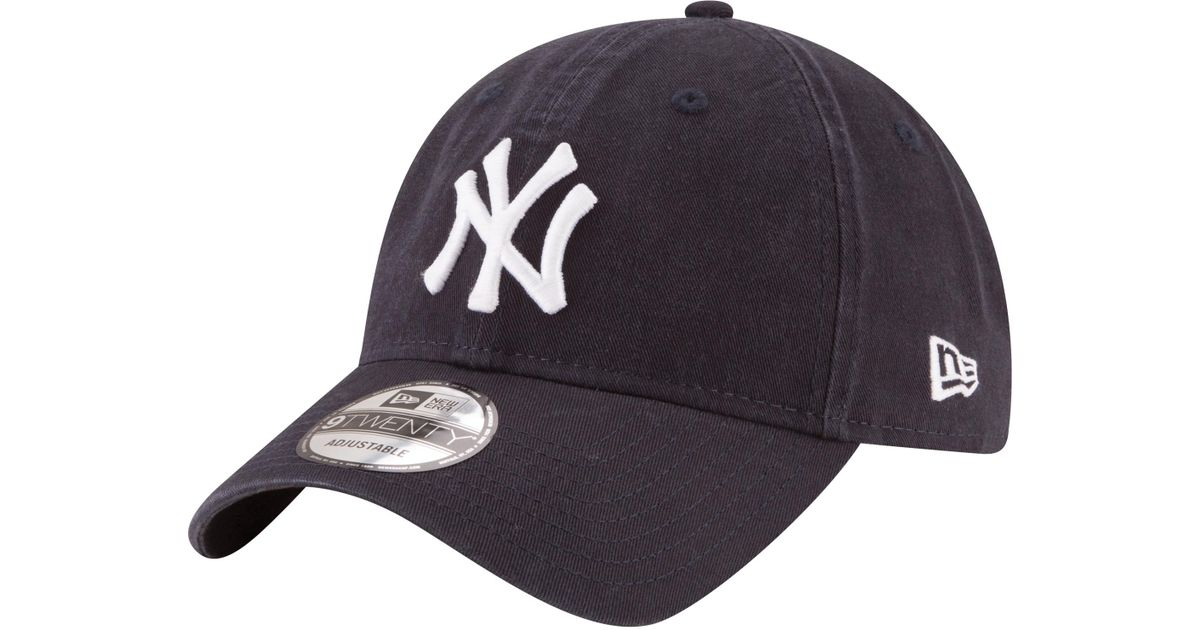separation shoes 0185d 692c7 KTZ New York Yankees Mlb 9twenty Core Classic Replica Cap in Blue for Men -  Lyst