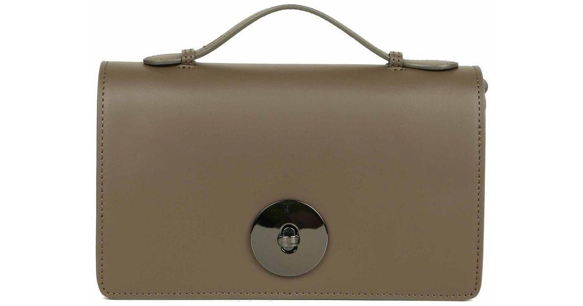 243accbe86 Bata Riley Leather Bag - Lyst
