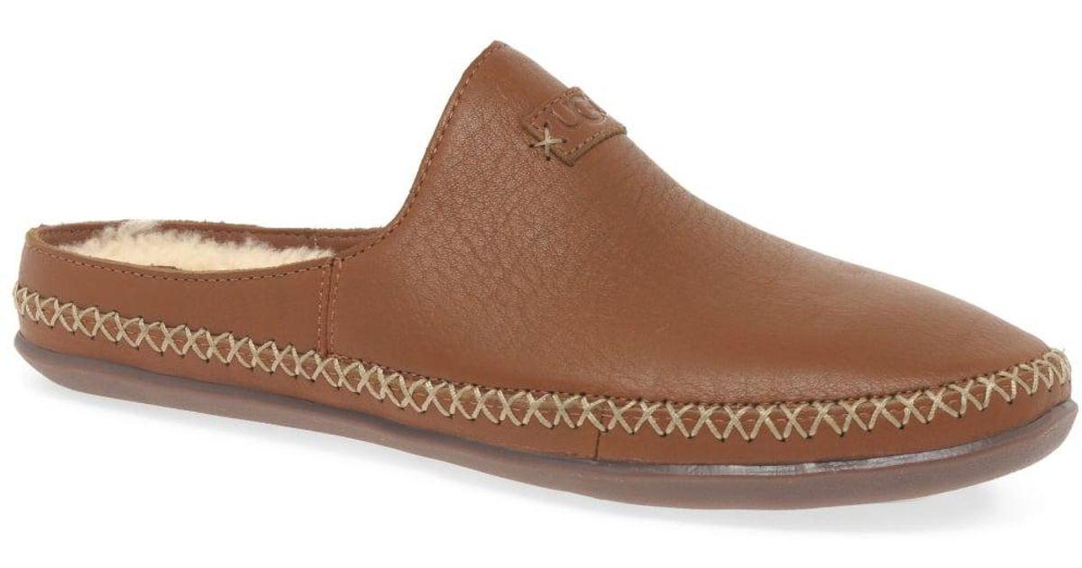 a8fea20619e Ugg - Brown Tamara Womens Wool Lined Slippers - Lyst