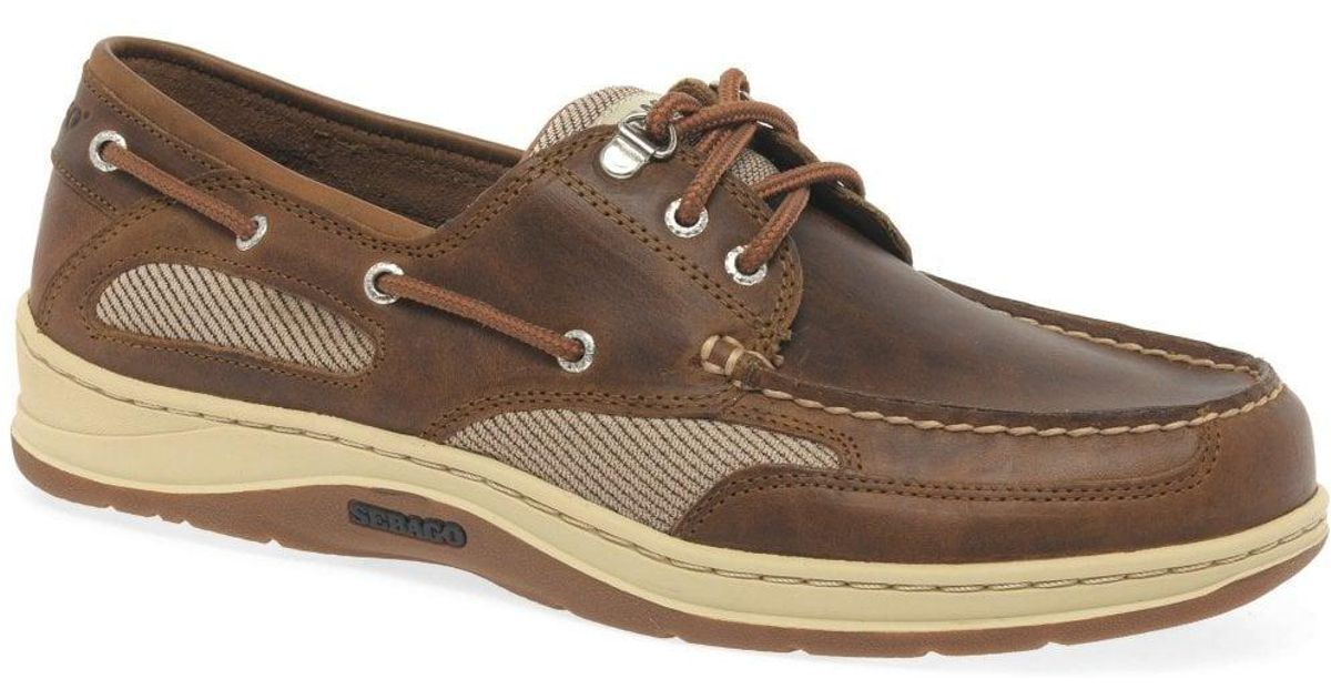 4a9b605b882 Sebago Clovehitch Ii Fgl Wax Mens Boat Shoes in Brown for Men - Lyst