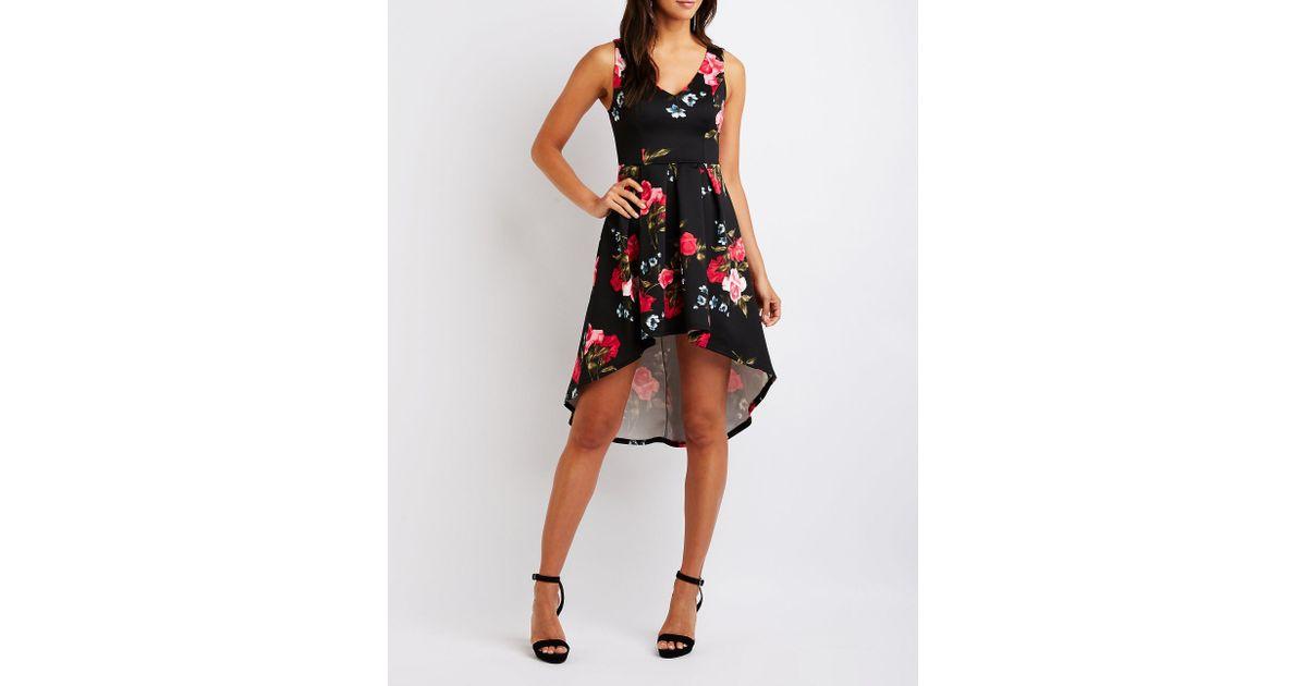 6dbeaa97d16 Charlotte Russe Black Flower Dress - Flowers Healthy