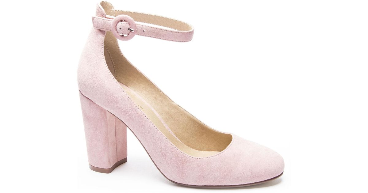 39c1aebb41d6 Lyst - Chinese Laundry Veronika Ankle Strap Pump in Pink
