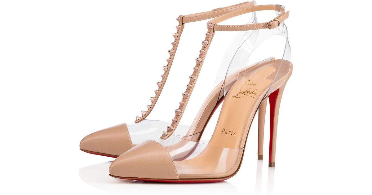 e4a235a2658 Christian Louboutin - Pink Nosy Spikes - Lyst