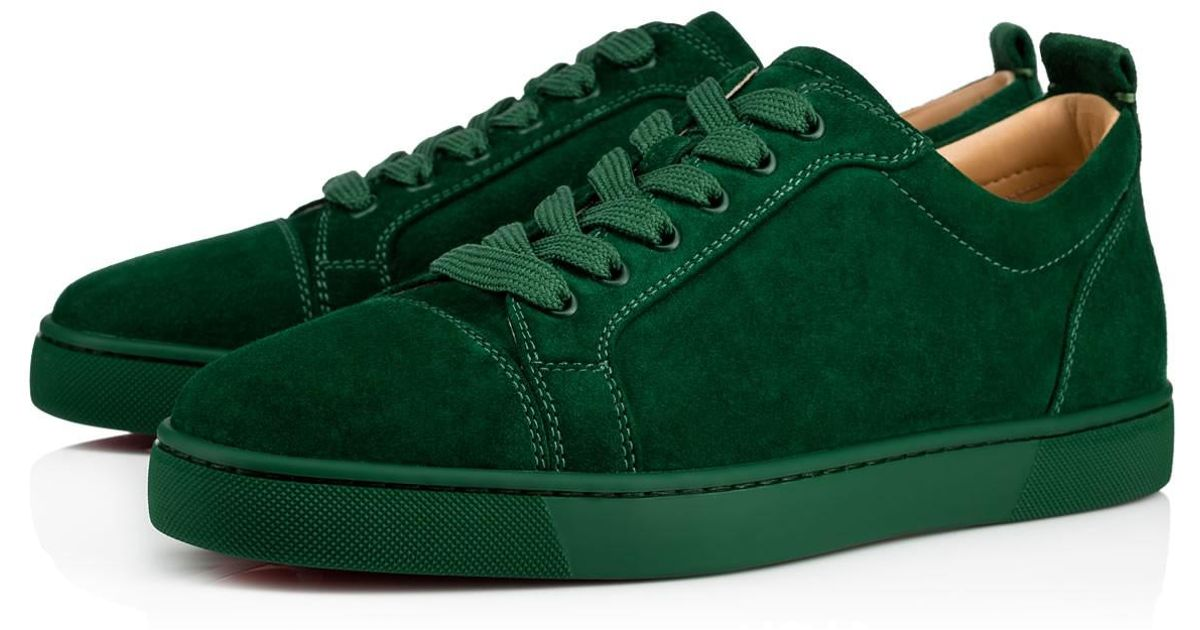 098319b9940 Lyst - Christian Louboutin Louis Junior Men s Flat in Green for Men