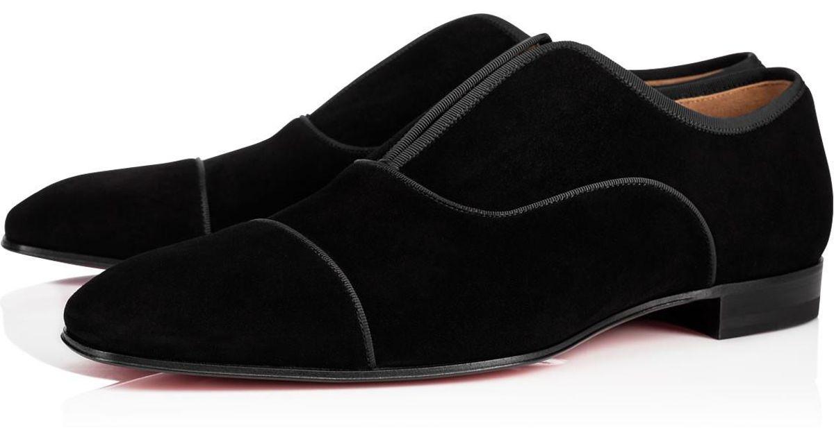 8851f7cdb242 Christian Louboutin Alpha Male Flat in Black for Men - Lyst