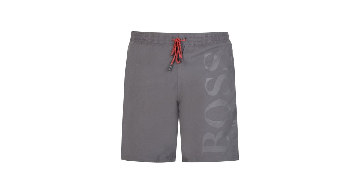 c8c4c4bf8e BOSS Hugo Orca Swim Shorts in Gray for Men - Lyst