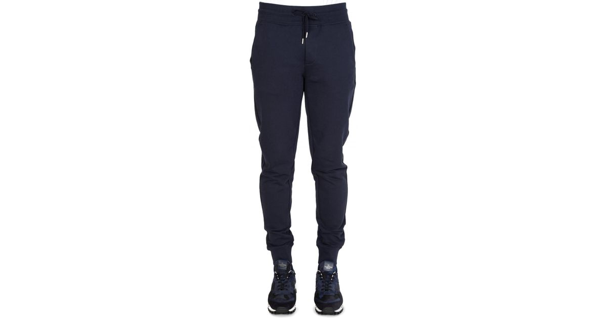 04b351a0851b Moncler Combination Joggers Navy in Blue for Men - Lyst