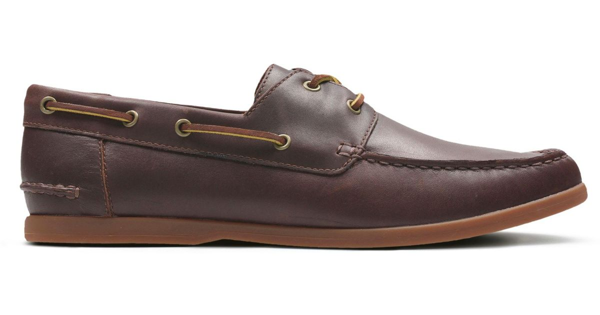 00a6ca99274 Lyst - Clarks Morven Sail in Brown for Men