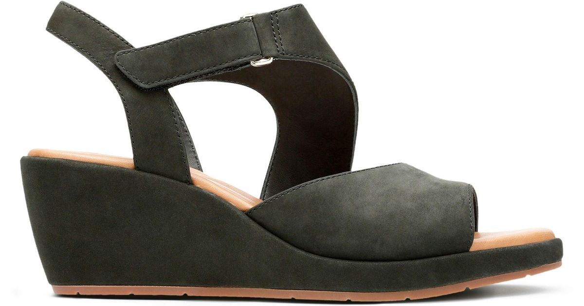 26cd91cd738 Lyst - Clarks Un Plaza Sling Sandals in Black