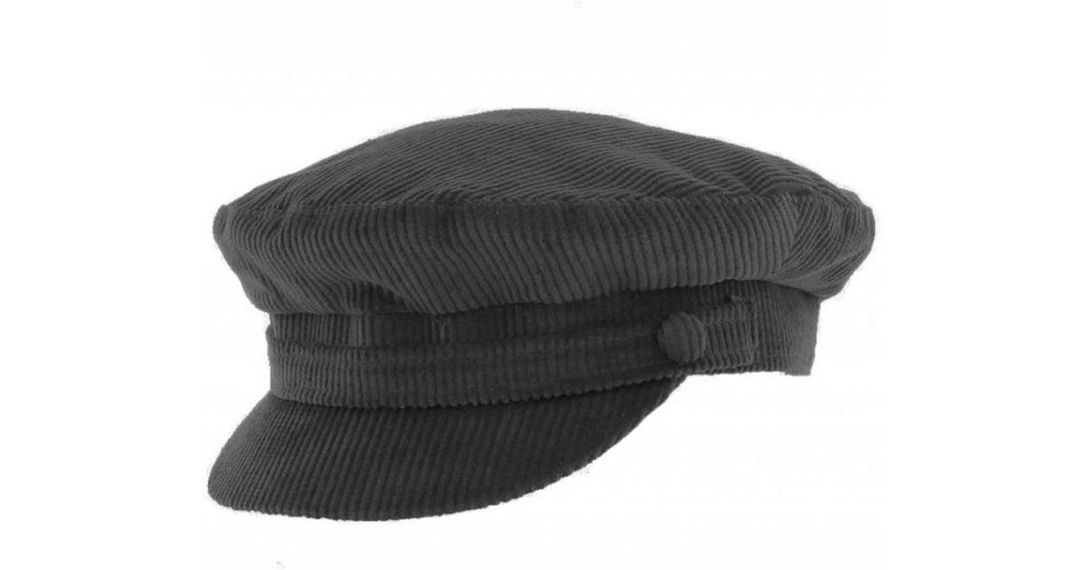 292cb7d35 Failsworth - Black Breton Cord Mariner/ Breton Cap for Men - Lyst