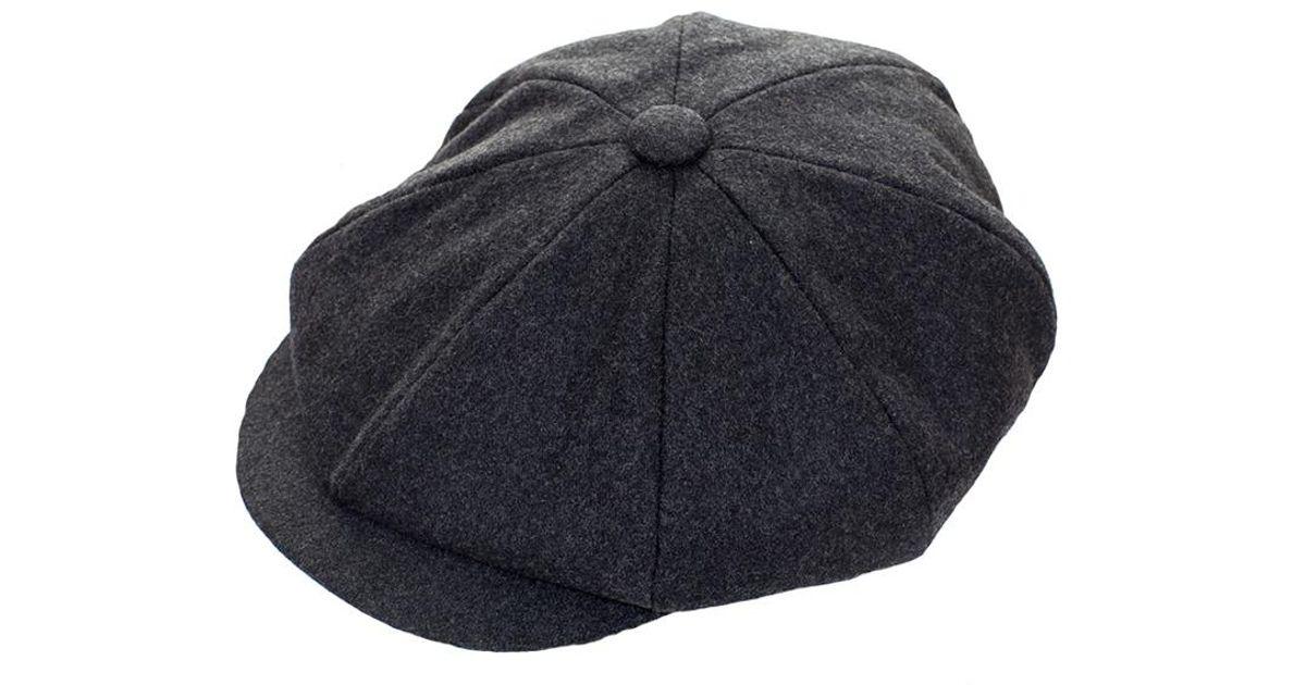 Lyst - Failsworth Alfie 8 Piece Melton Cap in Gray for Men 276e7af39e7e