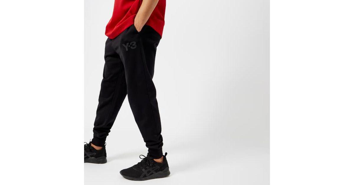 590cbafae6684 Lyst - Y-3 Y3 Men s Cl Cuff Pants in Black for Men