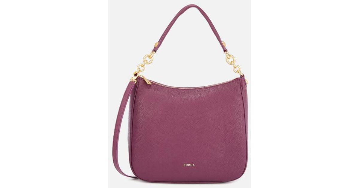 Lyst - Furla Women s Cometa Medium Hobo Bag in Purple 13a0627e008a3