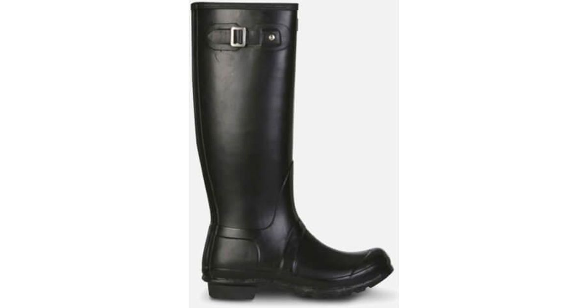 Hunter Women's Original Tall Wellies in Black - Save 35% ...