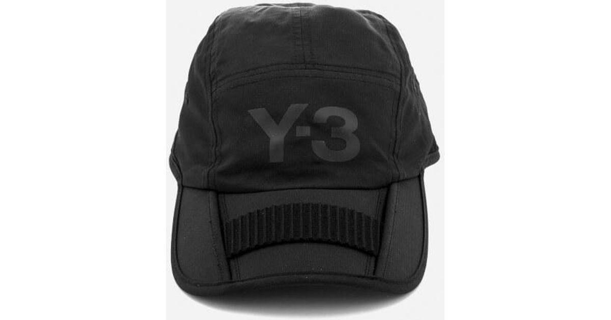 b5e01dc0adb Lyst - Y-3 Y3 Foldable Cap in Black for Men