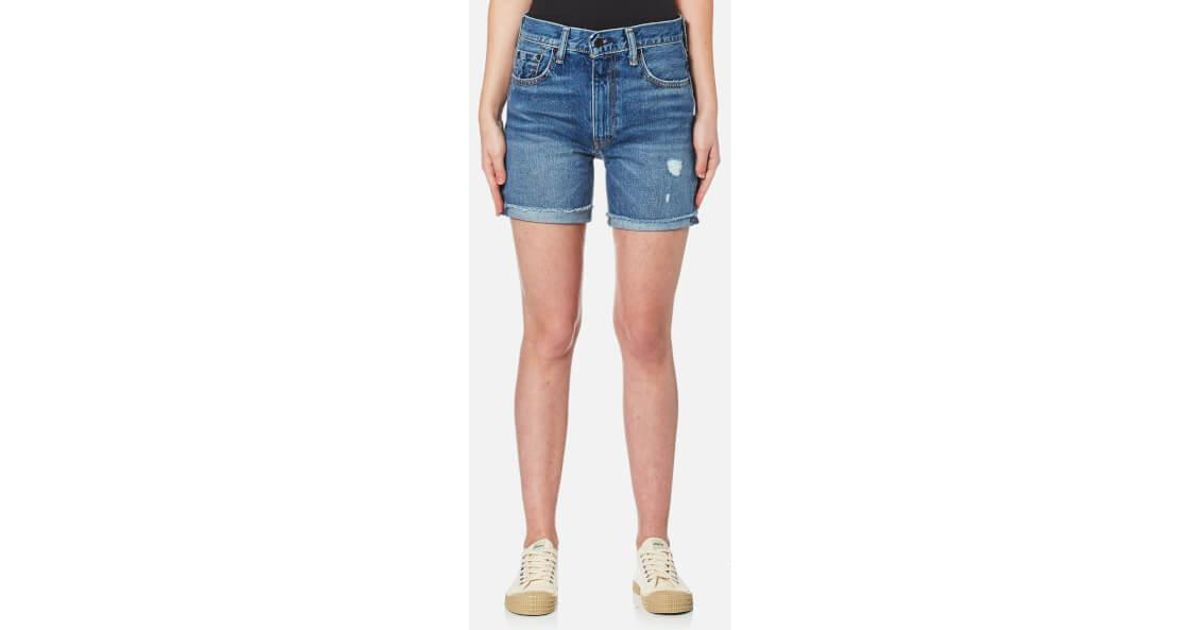 84923595 Levi's 505 C Shorts in Blue - Lyst