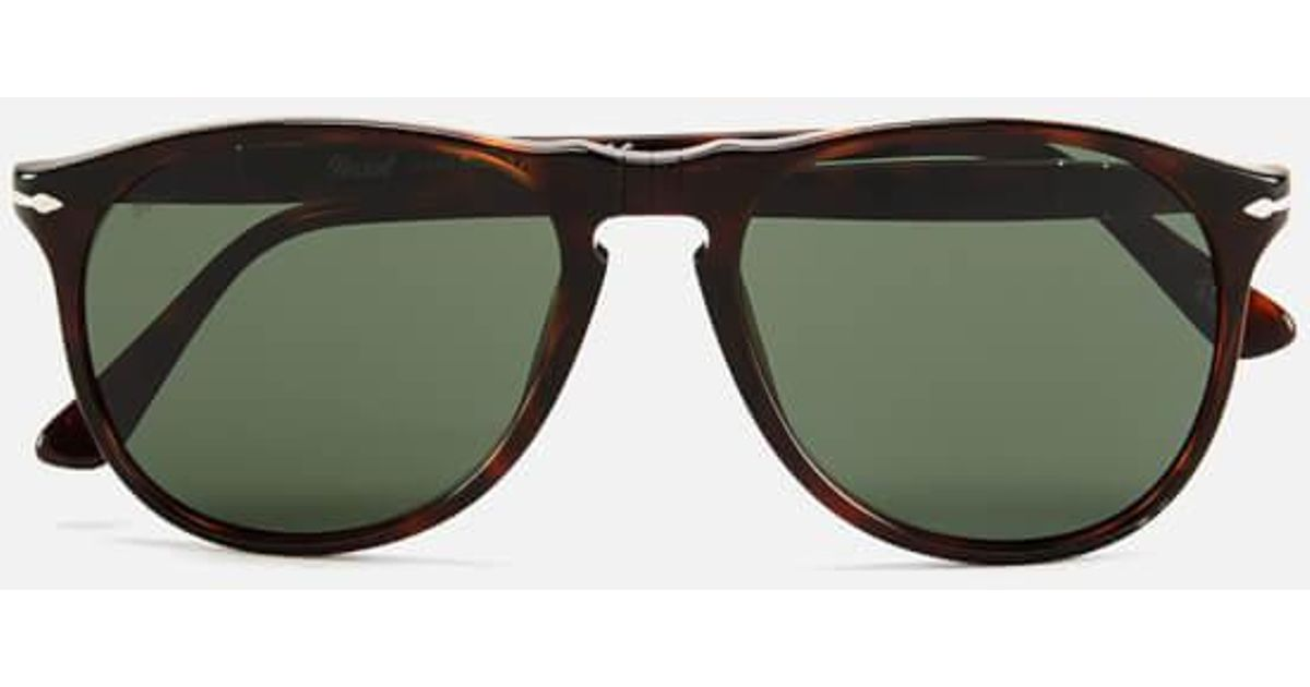 b00b55a213 Lyst - Persol Thin Dframe Men s Sunglasses in Brown for Men