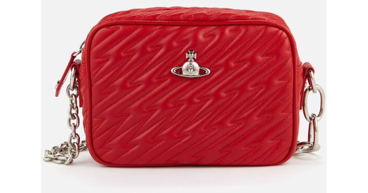 1bbb381002 Lyst - Vivienne Westwood Women's Coventry Camera Bag in Red