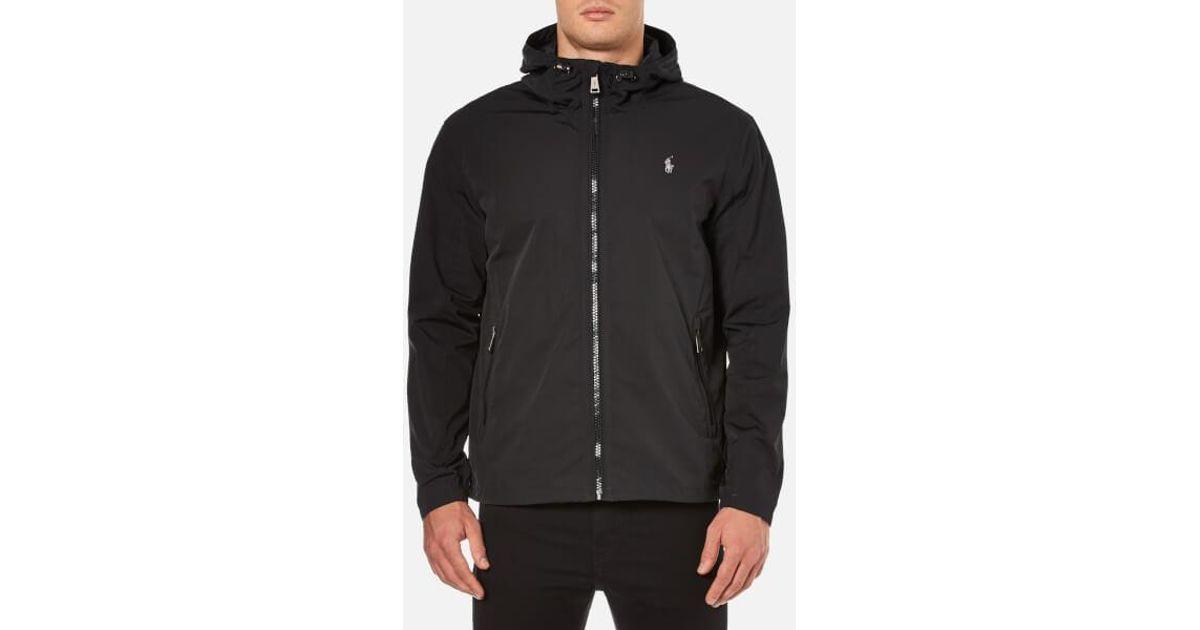 9baf54f69 Polo Ralph Lauren Men's Thorpe Anorak Lined Jacket in Black for Men - Lyst