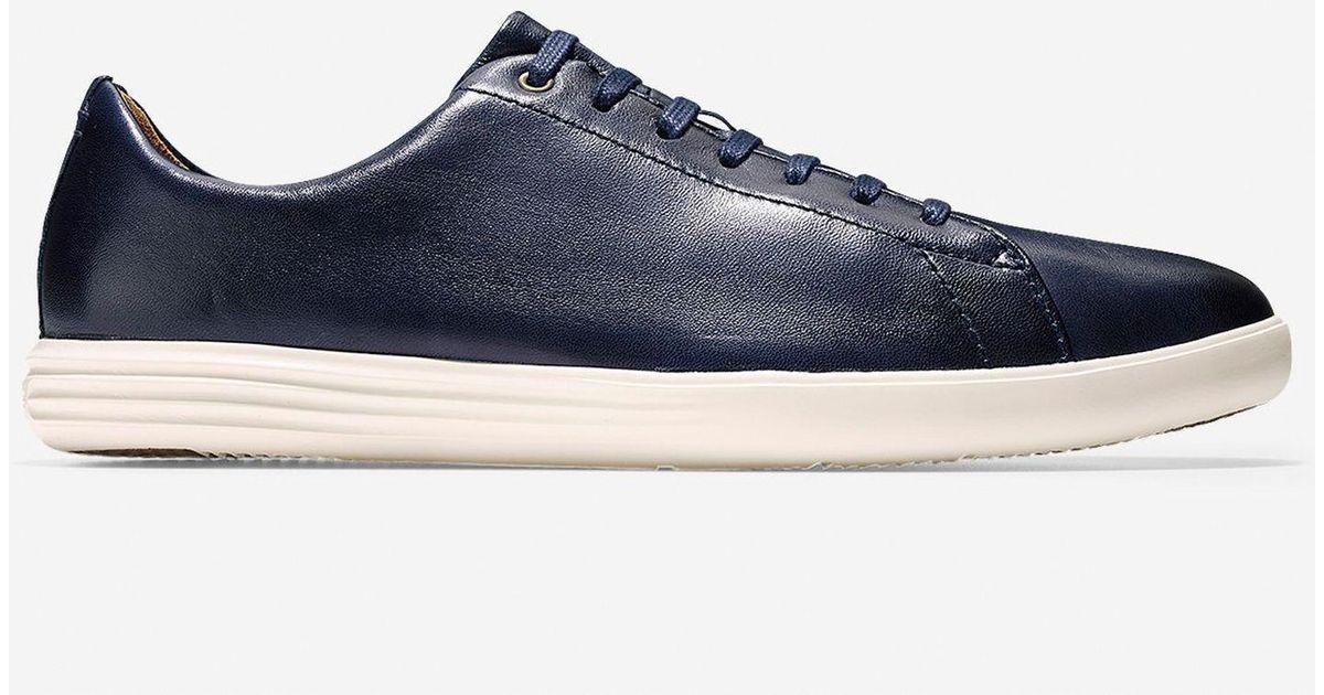 85bc356b3086 Cole Haan Men s Grand Crosscourt Sneaker in Blue for Men - Lyst