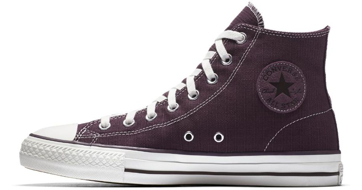 74173cdc403afb Lyst - Converse Chuck Taylor All Star Pro Suede High Top Men s Shoe in  Purple for Men