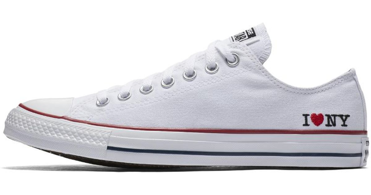 ad1356c4586 Converse Chuck Taylor All Star I Love Ny Low Top Shoe in White for Men -  Lyst