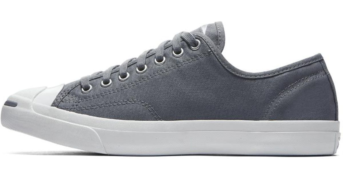 60316038cc06 Lyst - Converse Jack Purcell Jack Leather Ivy Campus Colors Ox Sneakers in  Gray for Men