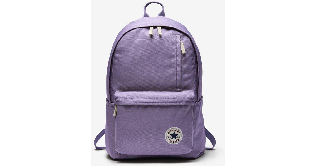 142bea84295c Lyst - Converse Original Backpack (purple) in Purple