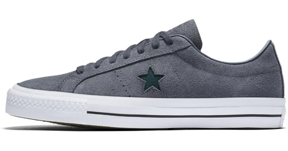 b3ae01f278d6 Lyst - Converse One Star Pro Oiled Suede Low Top Men s Skateboarding Shoe  in Blue for Men