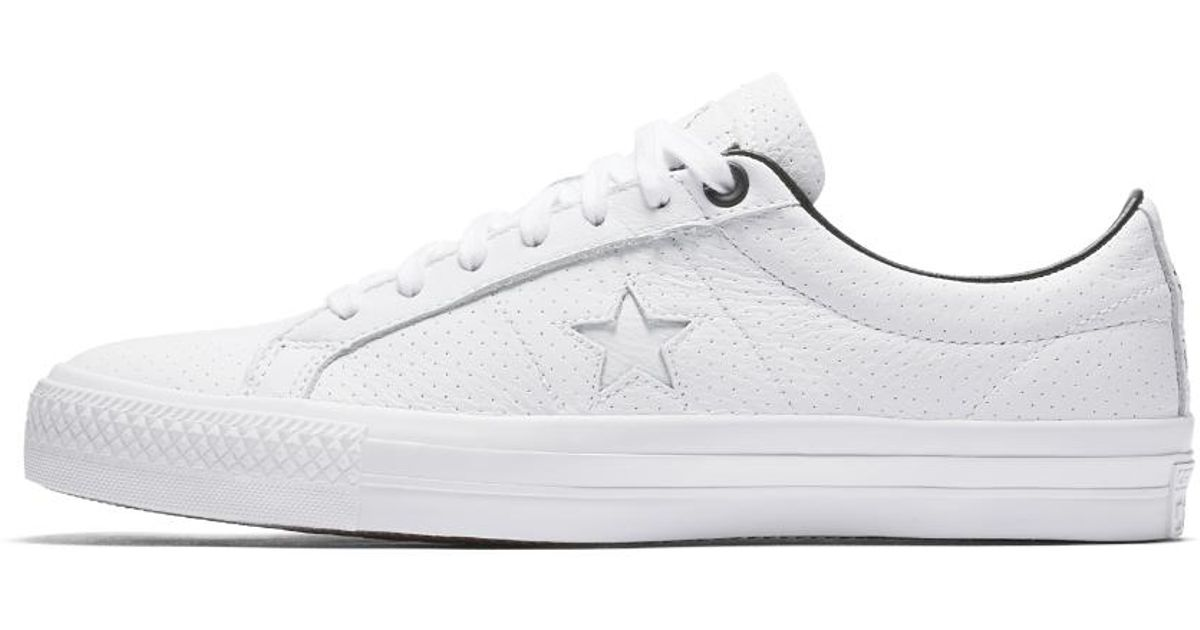 56a4a459b63c ... denmark lyst converse cons x civilist one star pro mens skateboarding  shoe in white for men