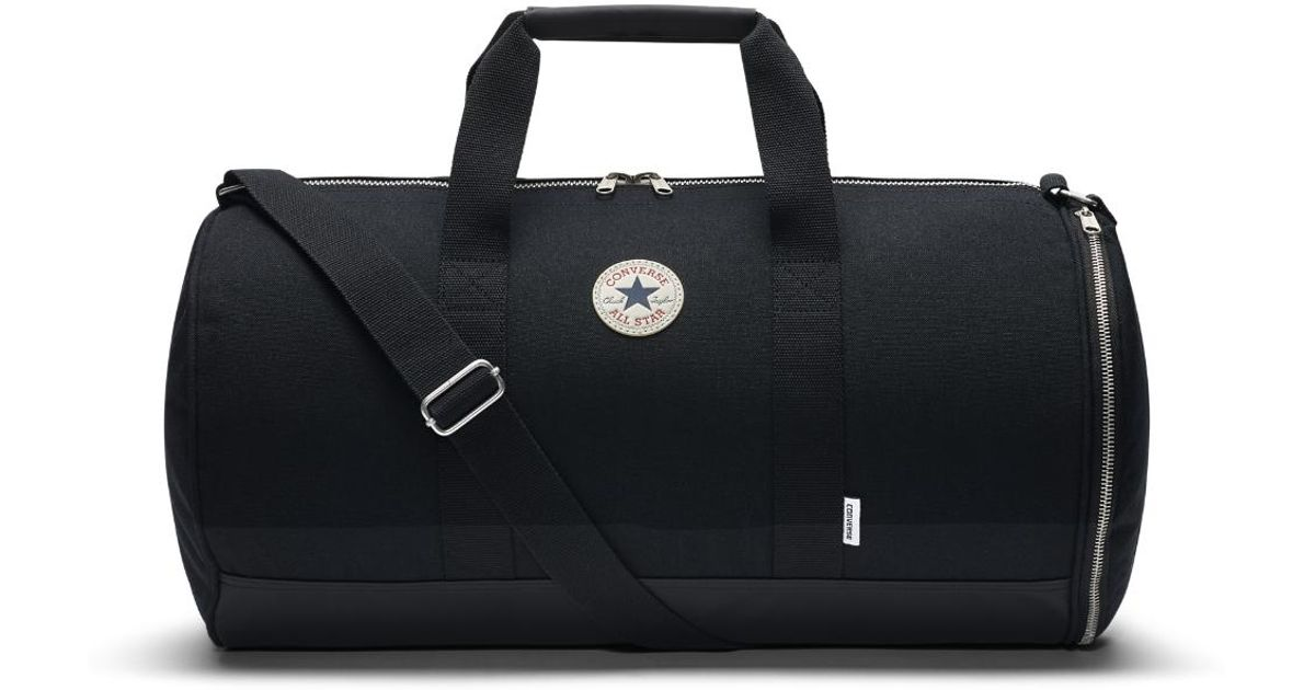 6072d402ec44 Lyst - Converse Core Canvas Duffel Bag (black) in Black