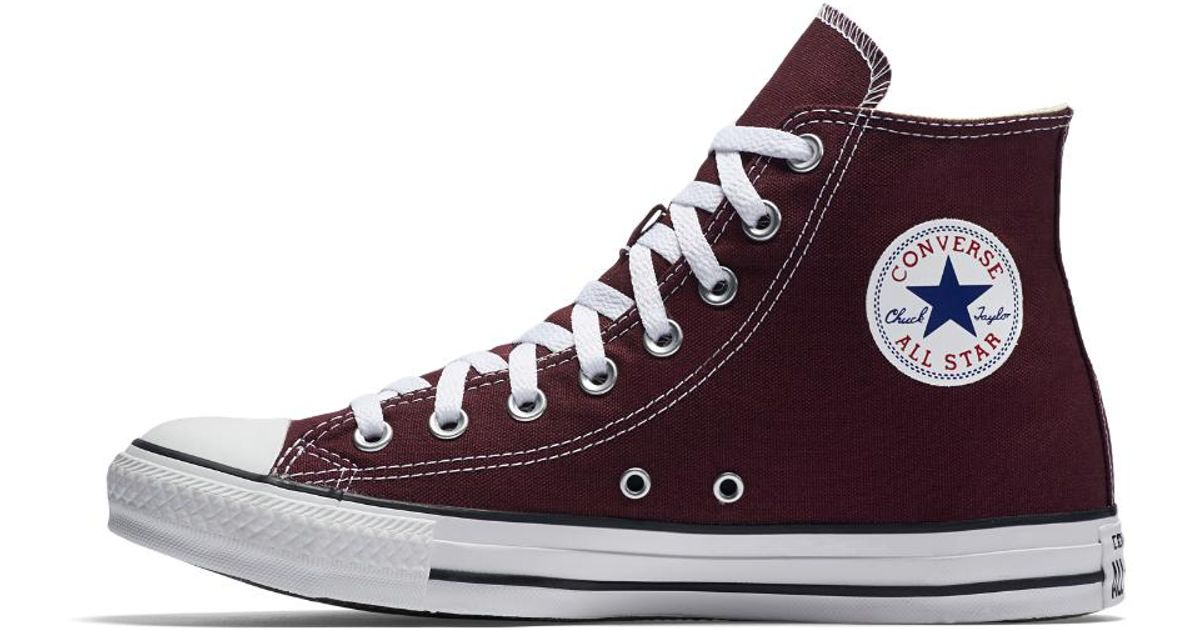 Lyst - Converse Chuck Taylor All Star Seasonal High Top Shoe in Purple for  Men 4edbd79b0c35d