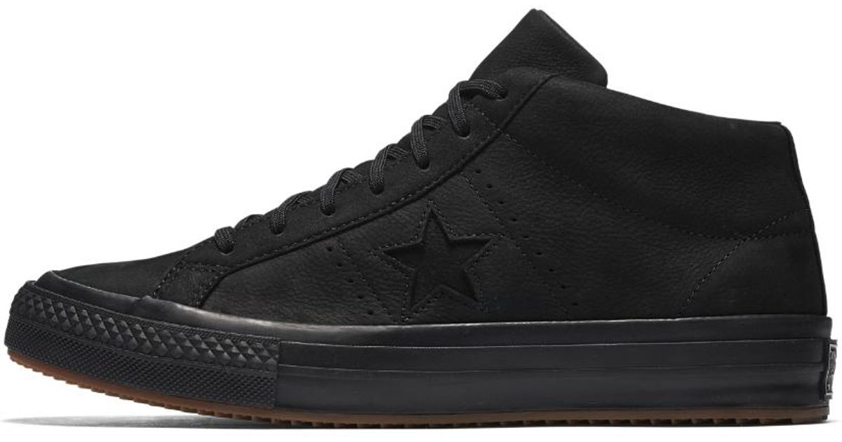 Lyst - Converse One Star Mid Counter Climate High Top Shoe in Black for Men 731a0b92c