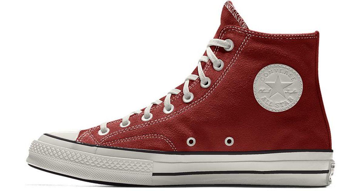 Lyst - Converse Custom Chuck Taylor All Star  70 Suede High Top Shoe 973e966c1451