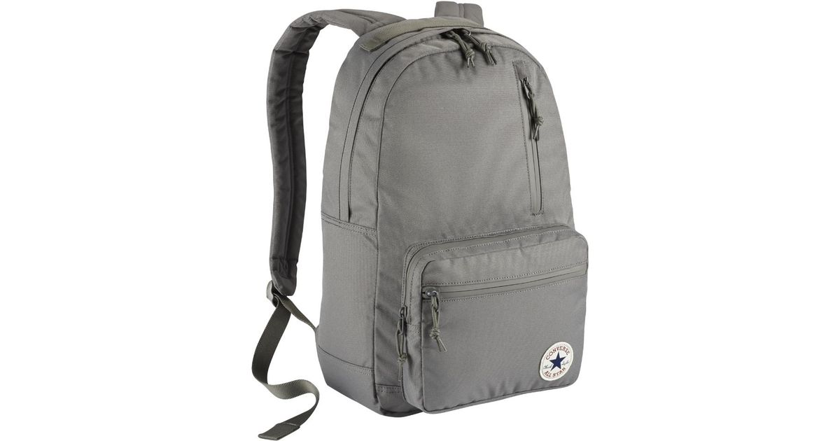 d080058107cf Lyst - Converse Poly Go Backpack (grey) - Clearance Sale in Black for Men