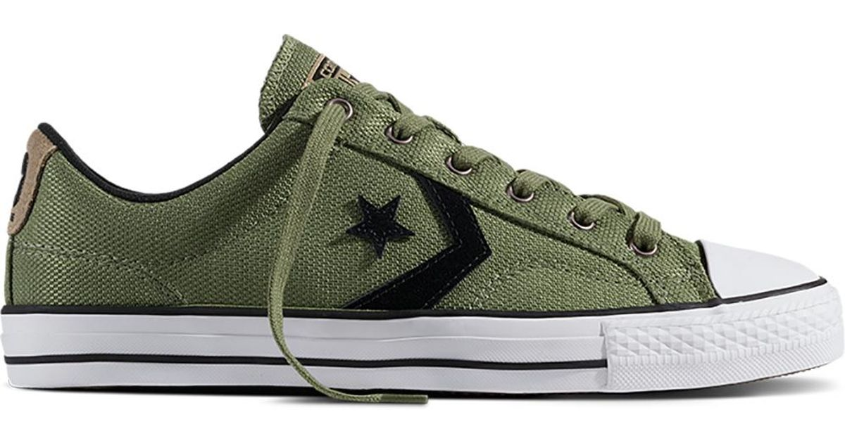 7481206451d ... closeout converse star player packable nylon in green for men lyst  46a9c deeb3