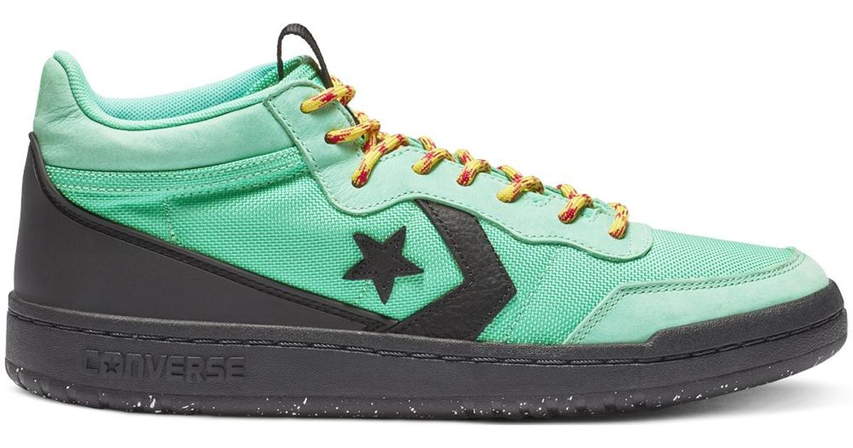 06d34a077b3 Converse Fastbreak Mountaineer Leather Mid in Green for Men - Lyst